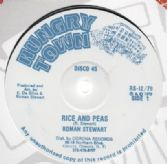 Roman Stewart - Rice & Peas / Felion - Rice & Peas In The Ghetto (Hungry Town) UK 12""
